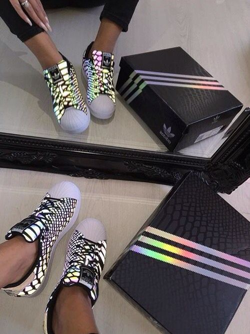 Adidas Superstar glow