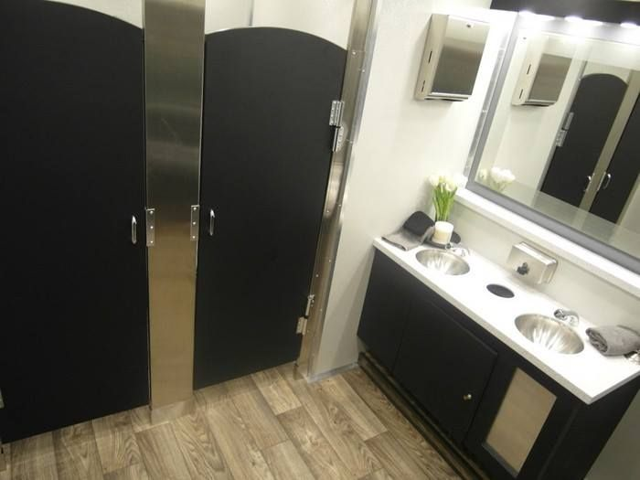 Highest quality Lavish Portable Restroom Rentals! Top of the line inside and out. Let them bring luxury restrooms to your next event.