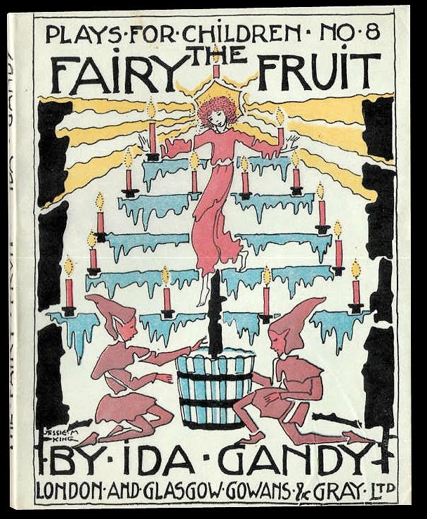 ¤ The Fairy Fruit. children book illustrated by Jessie M. King