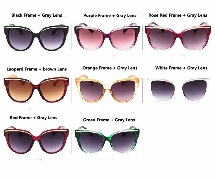 Солнцезащитные цветные очки-броулайнеры с металлическими бровями (в наличии зеленые и желтые) - 17991