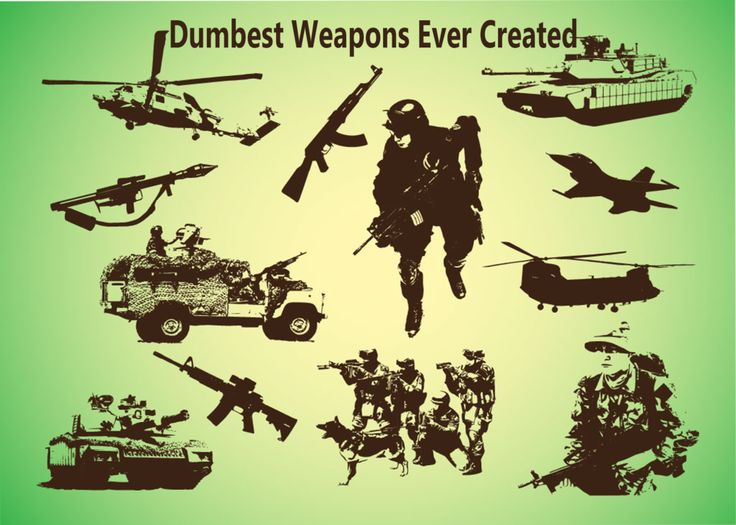 Top 10 Dumbest Weapons Ever Created :https://webbybuzz.com/top-10-dumbest-weapons-ever-created/