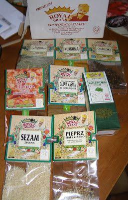 W Mojej Kuchni Lubię.. : aromatyczne przyprawy, sprawdzone i warte używania...