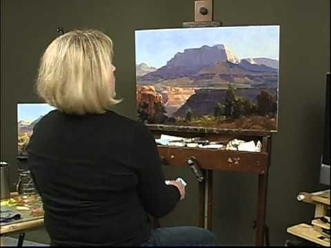 """Kathryn Stats """"Overview,"""" Painting Mountain Scenery"""