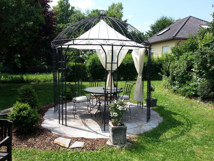 10 best images about eisenpavillons gartenpavillon. Black Bedroom Furniture Sets. Home Design Ideas