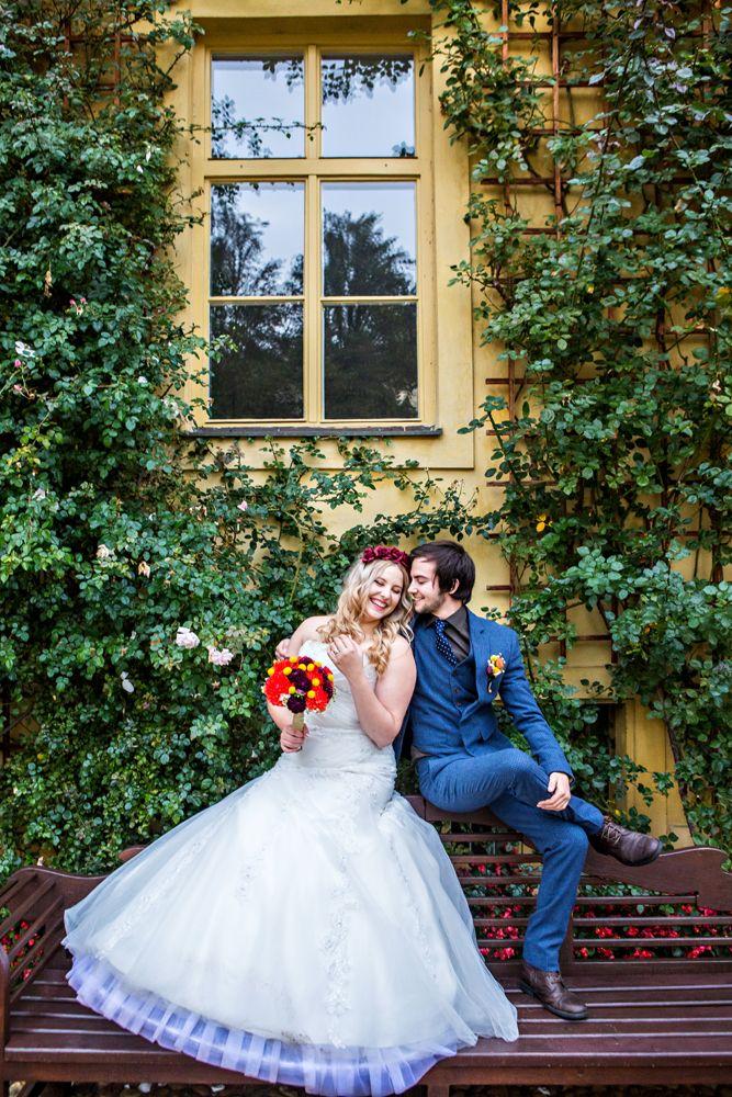 Wedding in #Prague garden
