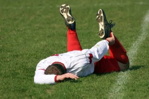 """""""Treatment of sports injuries are immediately treated with Rest-Ice-Compression-Elevation."""""""