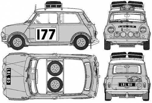 Austin Mini Cooper S 1275 Rally (1965)