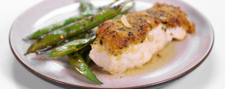 Michael Symon's Mustard Crusted Halibut in Butter Sauce Recipe | The Chew - ABC.com