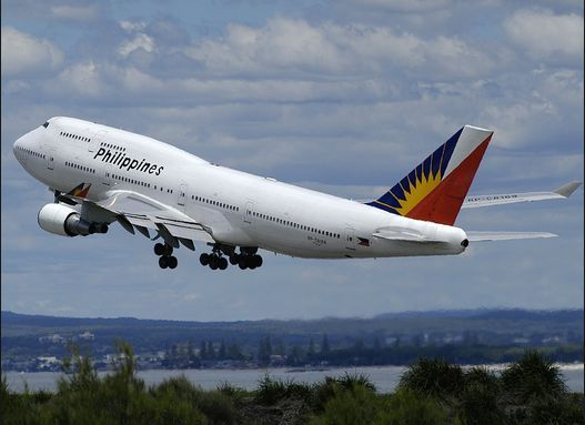 09/26/2016 - A Tokyo-bound Philippine Airlines flight from Manila made