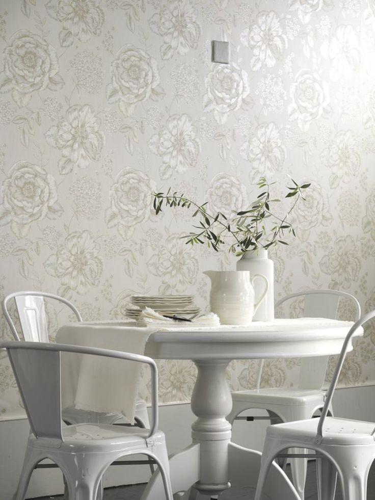 Beautiful Floral Wallpaper By Prestigious Kitchen WallpaperRoom