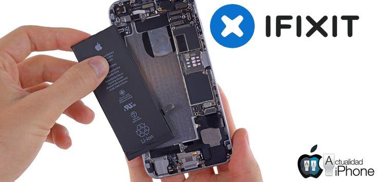 Cómo cambiar la batería de un iPhone 6 - http://www.actualidadiphone.com/cambiar-la-bateria-iphone-6/