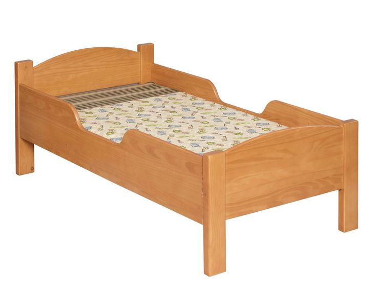Traditional Convertible Toddler Bed