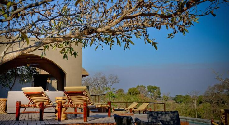 ZAR6,600 Situated on the banks of the Sabie River and bordering Kruger National Park, Lodge 23 is a luxurious Moroccan-styled villa.