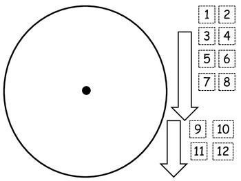 Printables Parts Of A Clock of a clock worksheet davezan parts davezan