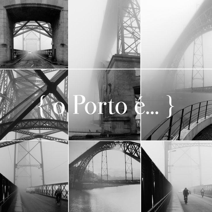 o Porto é... ponte luís I