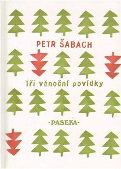 tree stamp design of book cover for Petr Šabach's book Tři vánoční povídky, CZ
