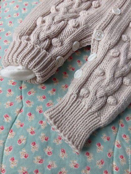 Одежда ручной работы. Комбинезон для новорожденного. Оксана (mamma_knit)…