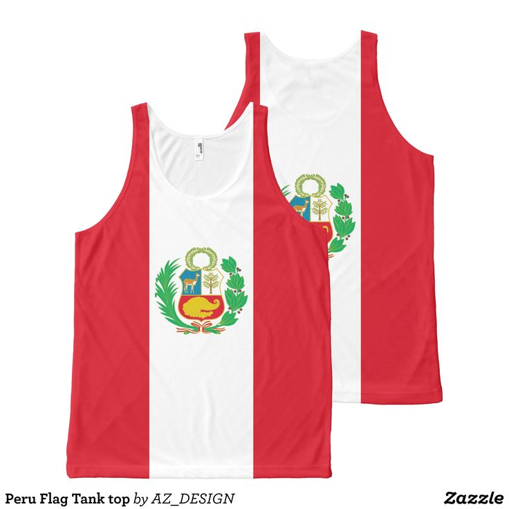 Peru Flag Tank top - Comfy Moisture-Wicking Sport Tank Tops By Talented Fashion & Graphic Designers - #tanktops #gym #exercise #workout #mensfashion #apparel #shopping #bargain #sale #outfit #stylish #cool #graphicdesign #trendy #fashion #design #fashiondesign #designer #fashiondesigner #style