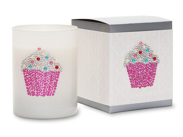 Cupcake Icon Candle by Primal Elements