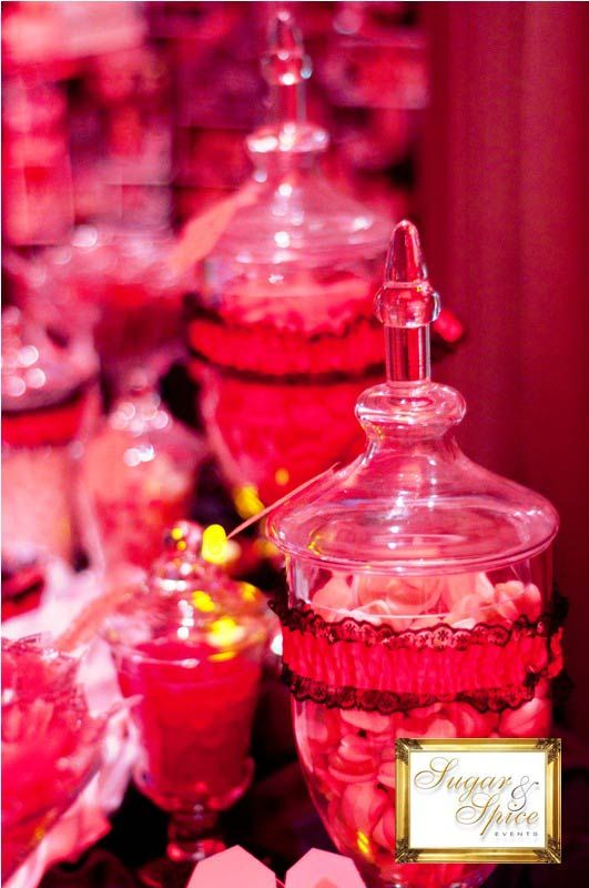 Burlesque lolly buffet - Sugar & Spice Events
