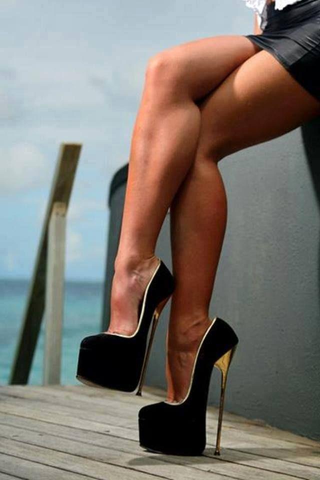Shoes highest heel hustler