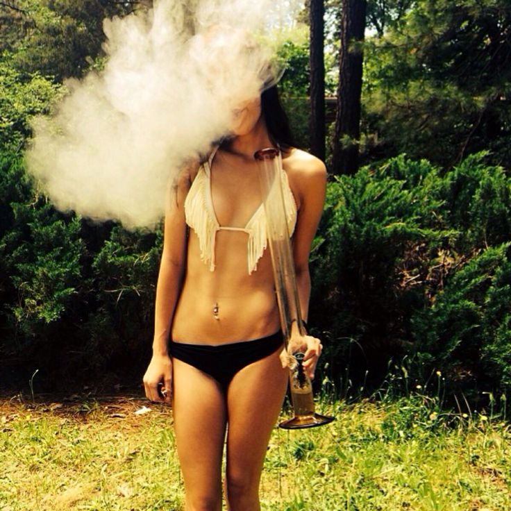 You uneasy High times stoner girls