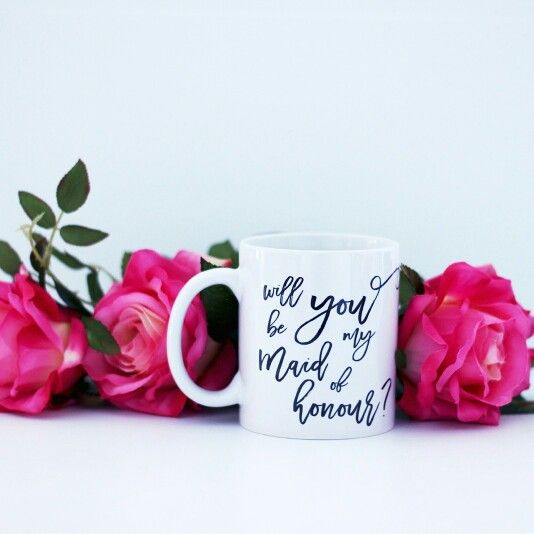 Will you be my Maid of Honour - mug