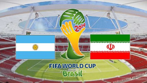 Piala Dunia 2014 : Argentina vs Iran