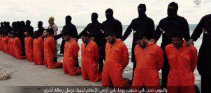 Estado Islámico difunde en un video la decapitación de 21 egipcios cristianos