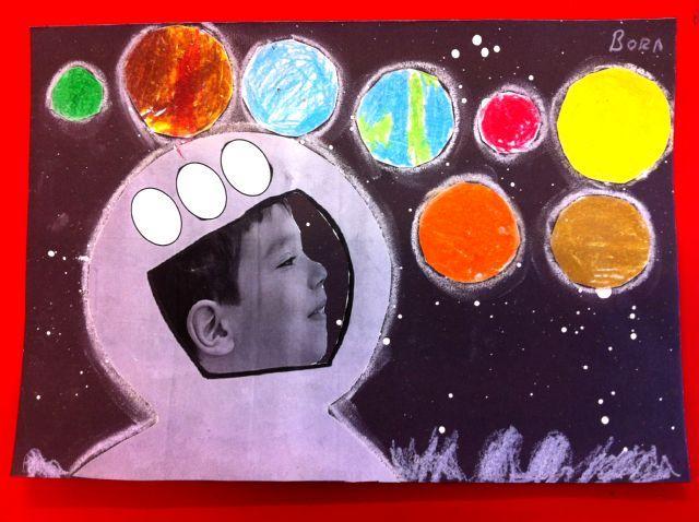 Astronaut craft ~ soooo cute