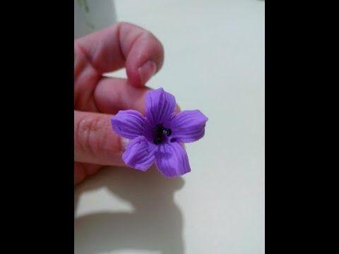 Flores Porcelana Fria: Paso a paso Orquidea Cymbidium / cold porcelain clay  1ra parte - YouTube