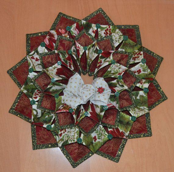 Www Fotoventasdigital Com Diy Burlap Wreath That Folding: 412 Best Images About Fold N Stitch Wreaths On Pinterest