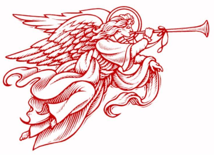 сделать картинки трубящий ангел начал масштабную