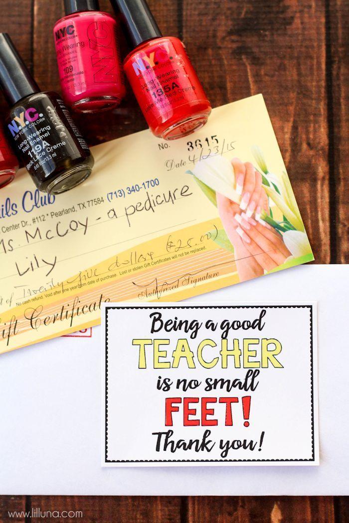 No Small FEET Teacher Gift Teacher Gift Ideas Teacher