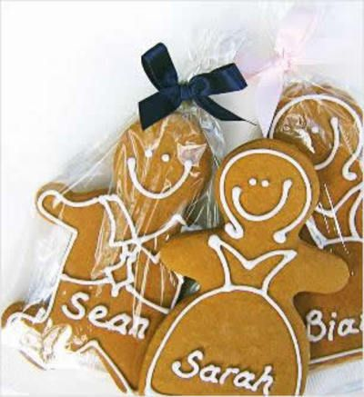 gingerbread Mr & Mrs