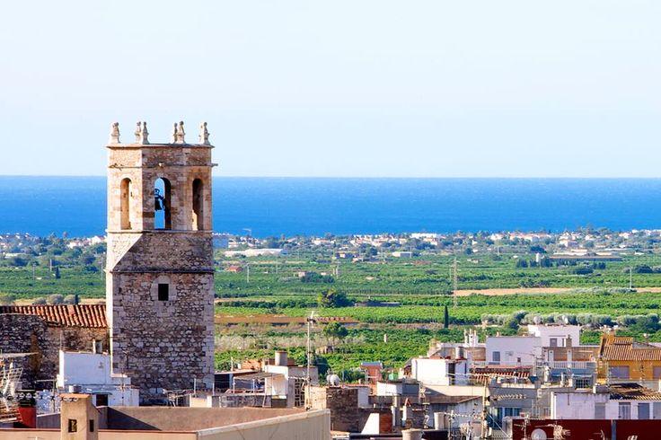 Vista del poble d'Alcanar #Tarragona #Catalunya