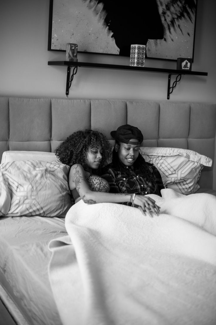 Philly LGBTQ Couples Boudoir Session by Lesbian Photographer