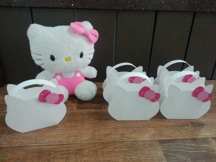 Bolsinha Hello Kitty Medida 10x11cm