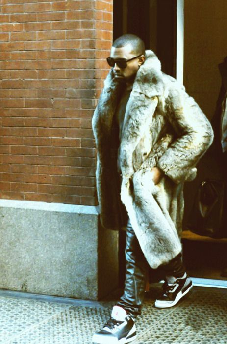 there is something about a man in fur that I can't resist. . .