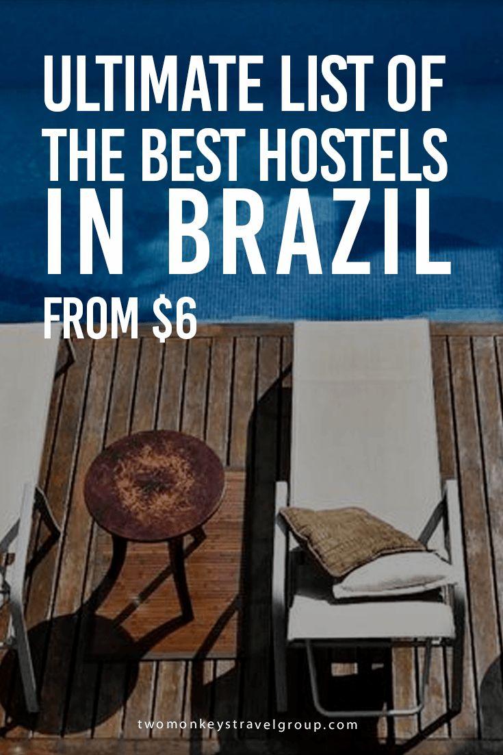 The Best Hostels in Brazil - From $6 | Two Monkeys Travel