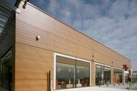 New Trespa Meteon Wood Décor Range, a great facade alternative.