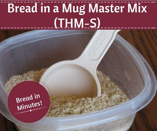 I have absolutely loved my Chocolate and Vanilla Cake Master Mixes, so I decided to try my hand at making a master mix for the Bread in a Mug! Since this is a recipe in the Trim Healthy Mama book, I can't list the recipe. But I can tell you what to do to make […]