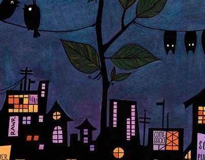 "Check out new work on my @Behance portfolio: ""Bird&Bat Remix"" http://on.be.net/1IazEyf"