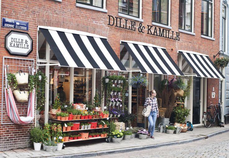 Wanneer ik de hoek omga en de winkel zie verschijnen krijg ik altijd een blij gevoel van binnen Dille & Kamille #Groningen