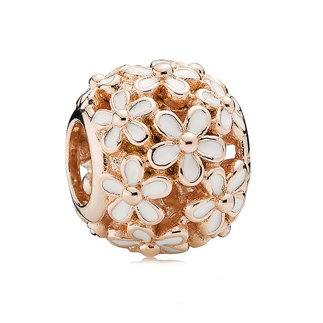 PANDORA Rose™ Darling Daisy Meadow w/White Enamel Charm