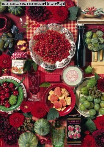 Fresh Fruits kompozycja i fotografia Andrea Tilk