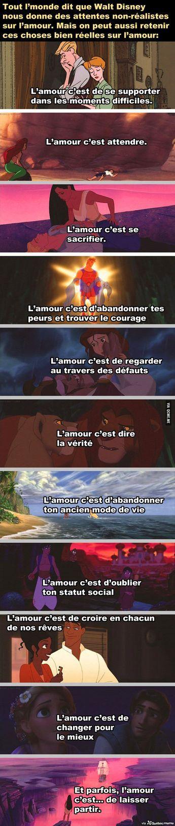 Disney, une passerelle vers la sagesse.
