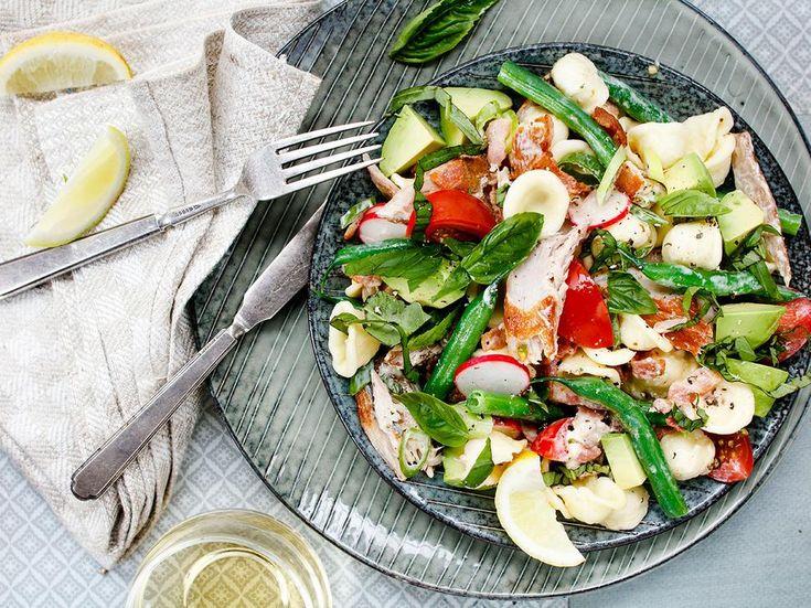 Smoked Fish Salad Recipe and Orecchiette - Viva