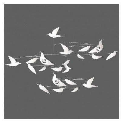 Mobile Oiseaux blancs Katsumi Komagata  Djeco