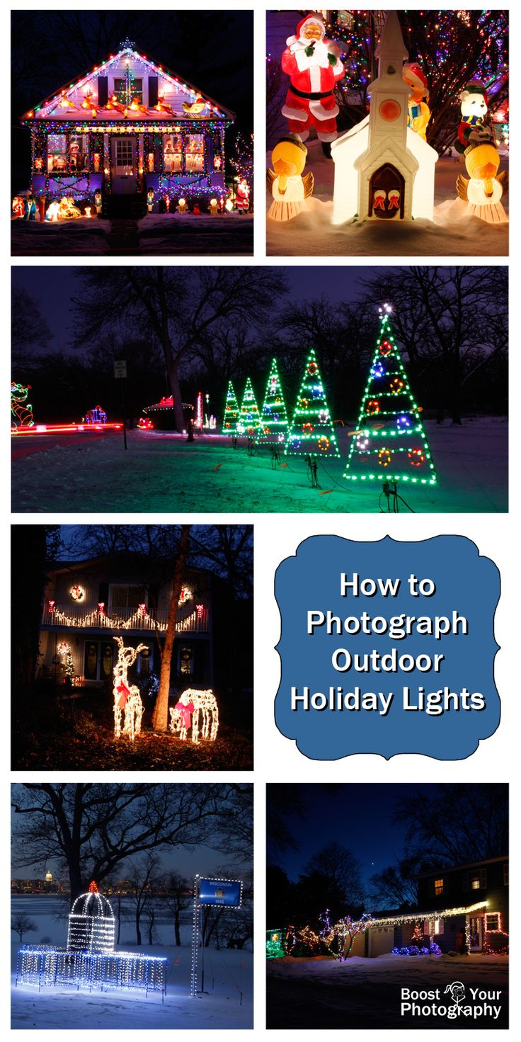 How To Get Christmas Decor On Campus Life - How to photograph outdoor holiday lights boost your photography